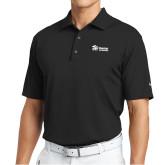 Nike Tech Basic Black Dri Fit Polo-