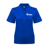 Ladies Easycare Royal Pique Polo-