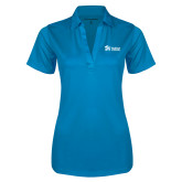 Ladies Brilliant Blue Silk Touch Performance Polo-
