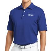 Nike Tech Basic Royal Dri Fit Polo-