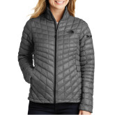 The North Face Ladies Thermoball Grey Trekker Jacket-