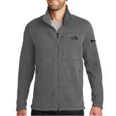 The North Face Grey Heather Fleece Jacket-