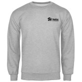 Grey Fleece Crew-