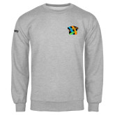 Grey Fleece Crew-Beloved Community