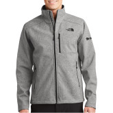 The North Face Apex Barrier Grey Heather Softshell Jacket-
