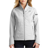 The North Face Ladies Apex Barrier Light Grey Heather Softshell Jacket-