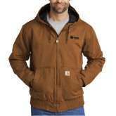 Carhartt Washed Duck Brown Active Jacket-