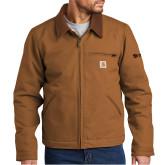 Carhartt Duck Brown Detroit Jacket-
