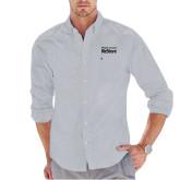Tommy Hilfiger Grey Solid Oxford Shirt-Habitat for Humanity Restore