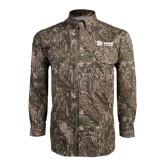 Camo Long Sleeve Performance Fishing Shirt-