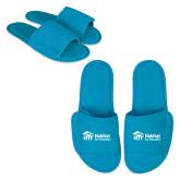 Aqua Waffle Slippers-