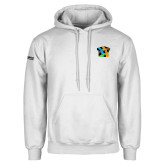 White Fleece Hoodie-Beloved Community
