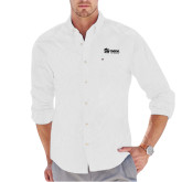 Tommy Hilfiger White Solid Oxford Shirt-