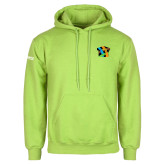 Lime Green Fleece Hoodie-Beloved Community