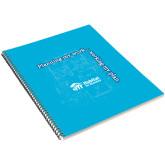 College Spiral Notebook w/Black Coil-Planning My Work Working My Plan