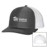 Richardson Charcoal/White Trucker Hat-