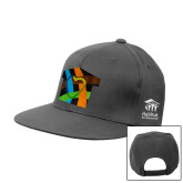 Charcoal Flat Bill Snapback Hat-Beloved Community