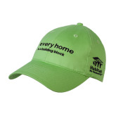 Lime Green Twill Pro Style Hat-Every Home