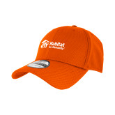 New Era Orange Diamond Era 39Thirty Stretch Fit Hat-