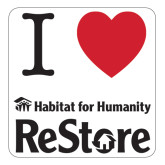 Large Magnet-I Heart Restore, 12 Inches Wide