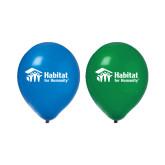 Blue/Green Balloons, 50/pkg-