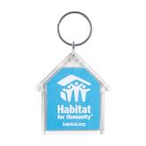 Acrylic House Key Tag-