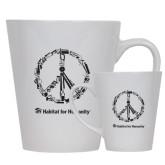 Full Color Latte Mug 12oz-Peace Tools