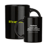 Full Color Black Mug 15oz-Its up to us