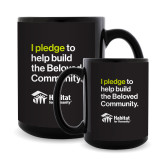 Full Color Black Mug 15oz-I pledge