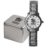 Mens Stainless Steel Fashion Watch-Stacked Logo