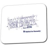 Full Color Mousepad-Habitat We Build