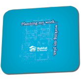 Full Color Mousepad-Planning My Work Working My Plan