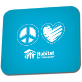 Full Color Mousepad-Peace Love Habitat