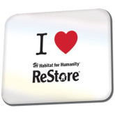 Full Color Mousepad-I Heart Restore