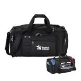 Kenneth Cole Tech Travel Black Duffel Bag-