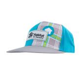 Habitat Blue Plaid Flatbill Snapback-