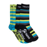 Stripe Socks, 2/pack-