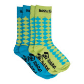 Rhombus Socks, 2/pack-