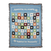 Afghan Tapestry Throw-