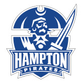 Large Decal-Hampton Pirates, 12 inches tall