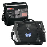 Slope Black/Grey Compu Messenger Bag-Hampton Pirates Swords