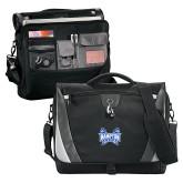 Slope Black/Grey Compu Messenger Bag-Hampton Pirates Swords
