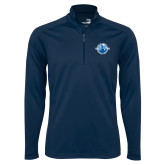 Syntrel Navy Interlock 1/4 Zip-Celebrating A Legacy and A Legend of Excellence