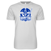 Next Level SoftStyle White T Shirt-Hampton Pirates