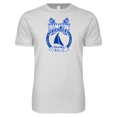 Next Level SoftStyle White T Shirt-Hampton Sailing Championship Finalist