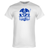White T Shirt-Hampton Pirates