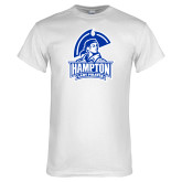 White T Shirt-Hampton Lady Pirates