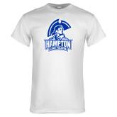 White T Shirt-Hampton Lady Pirates