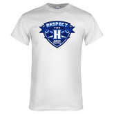 White T Shirt-Respect The H