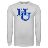White Long Sleeve T Shirt-HU